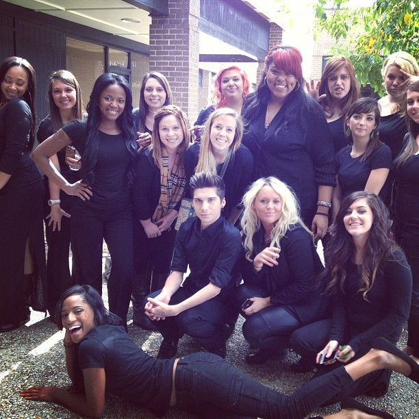 Aveda Baton Rouge Students