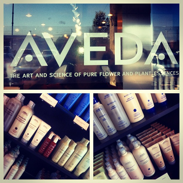AVEDA hair and skin products