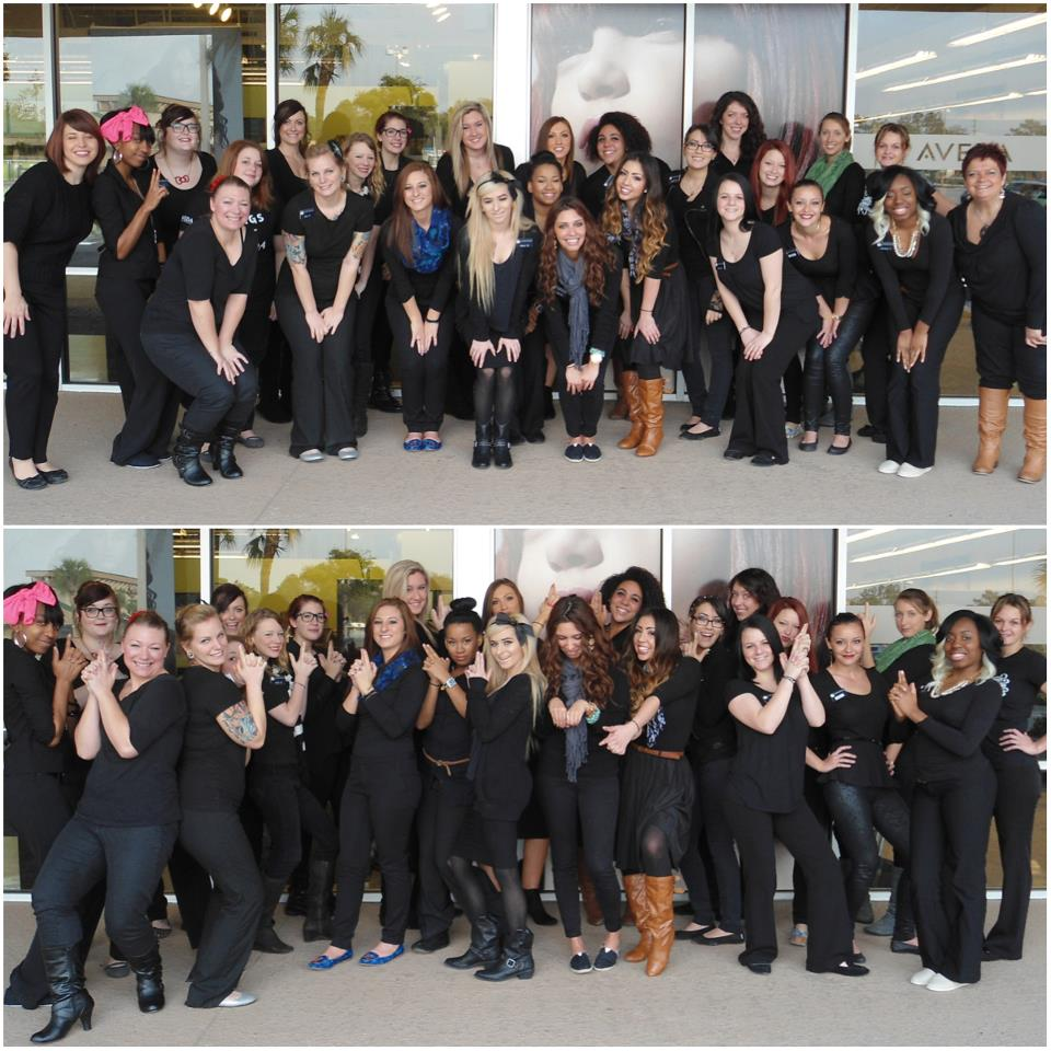 aveda institute jacksonville students beauty school