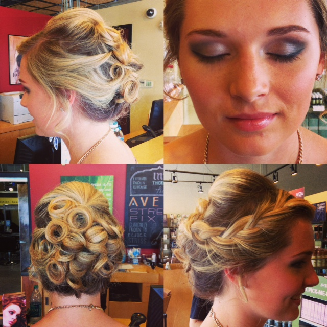 Aveda Institute Tallahassee Prom Hair and makeup Salon