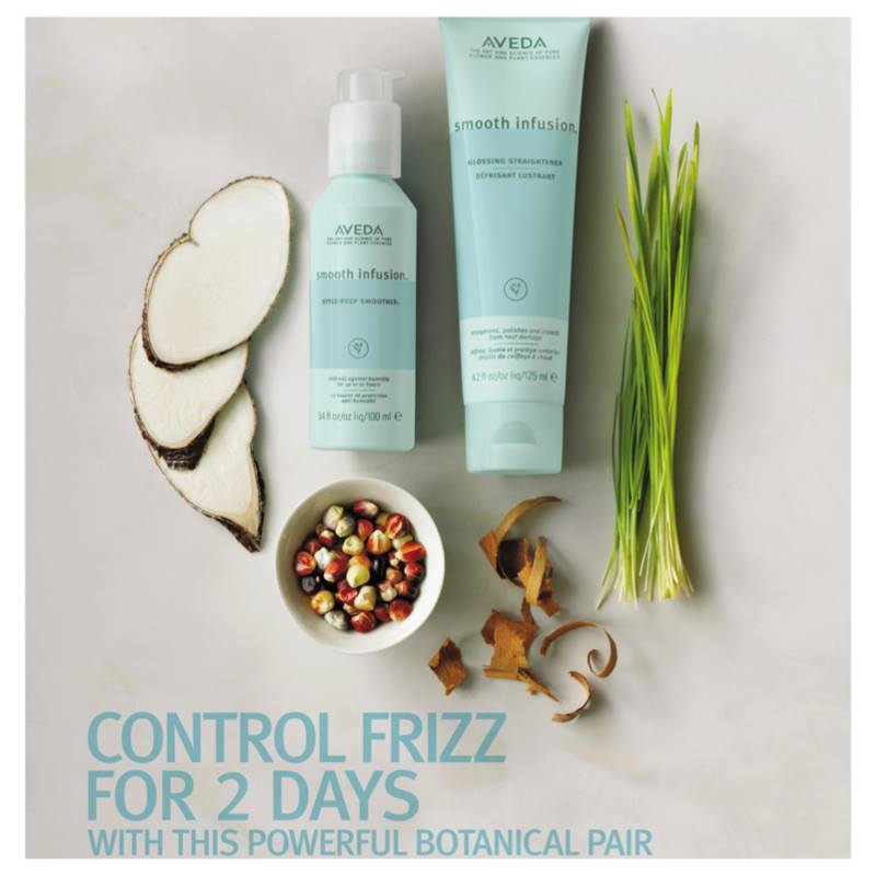 summer frizz control Style‐Prep Smoother and Glossing Straightener