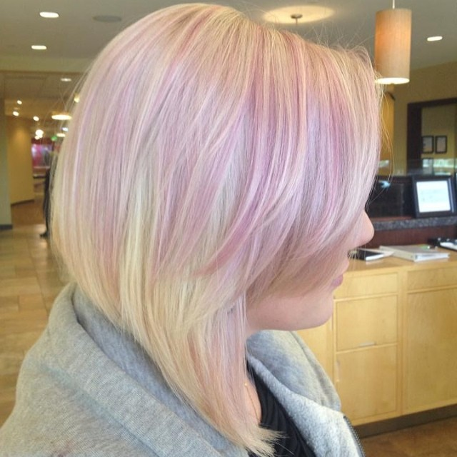 Soft Pink Aveda Color