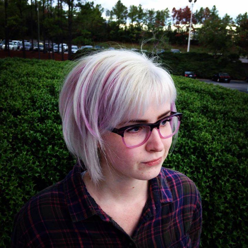 Aveda Beauty School Pink Hair Color