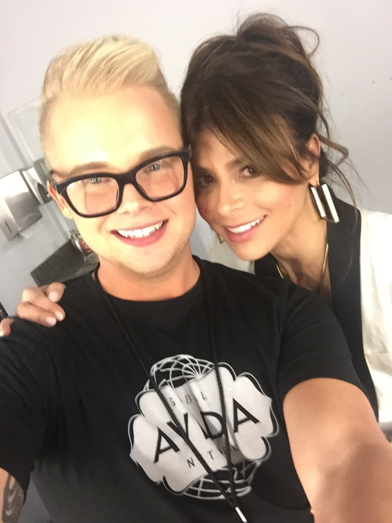 Aveda Stylist With Paula Abdul