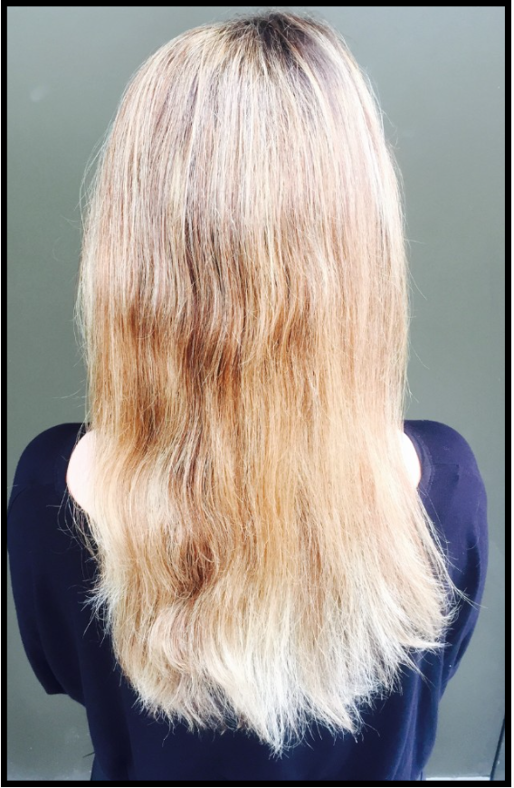 Image of long hair