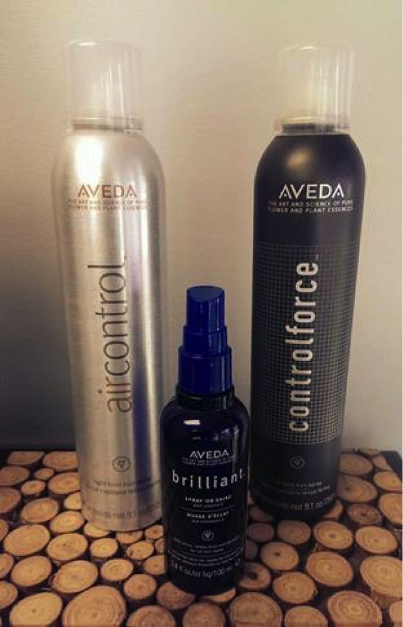 image of aveda products