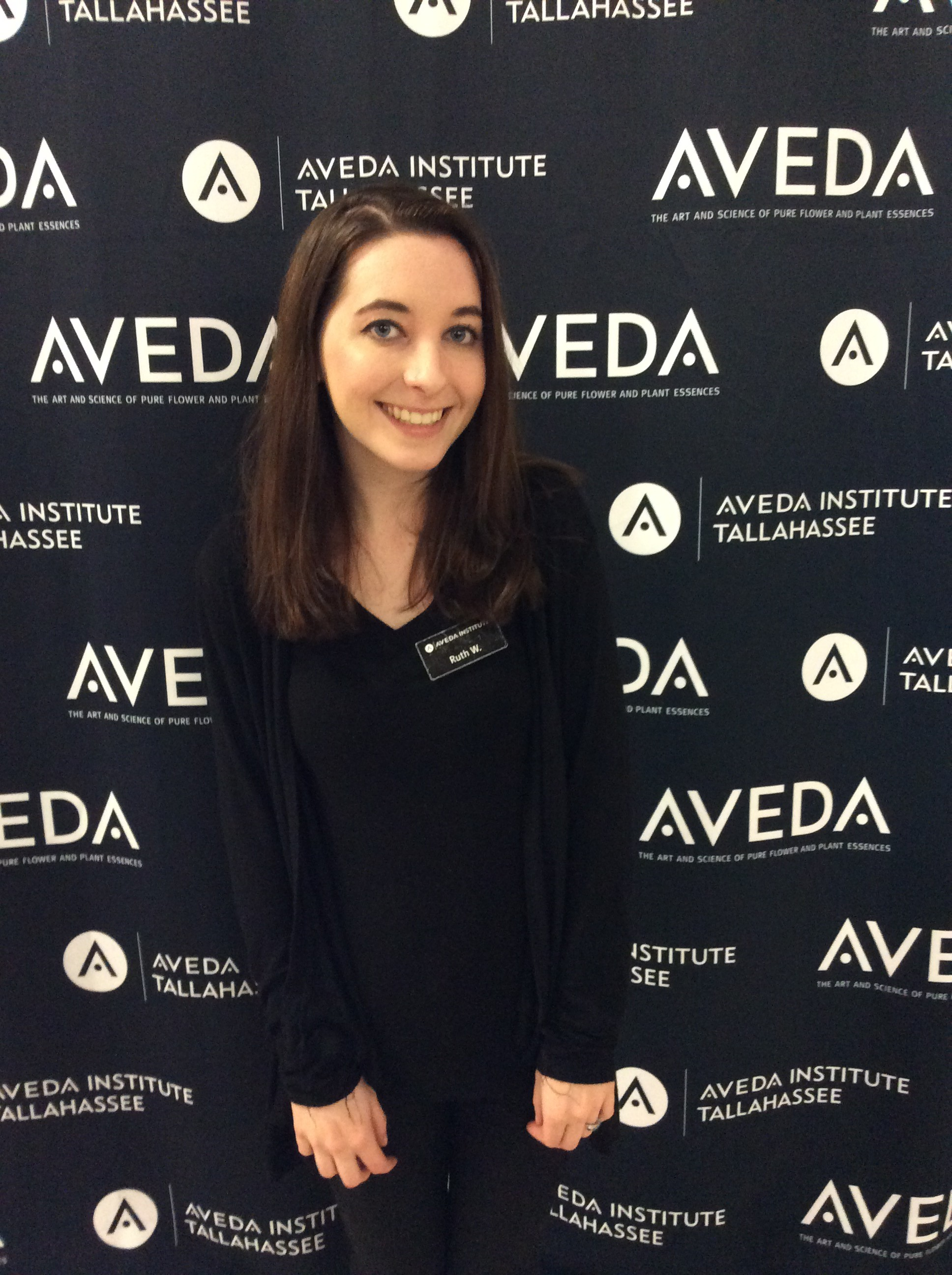 aveda beauty school student