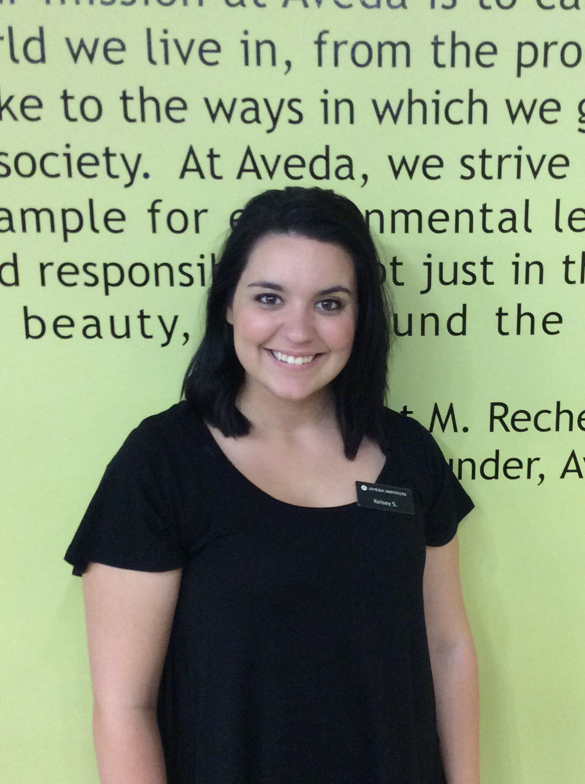 Aveda Tallahassee August Student of the Month