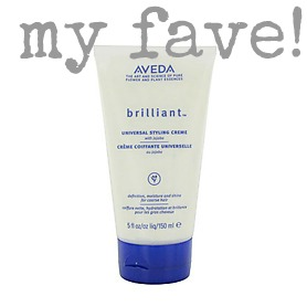 favorite aveda product brilliant styling creme 2